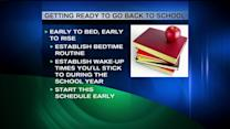 5 Tips For Transitioning From Summer Vacation to The School Year
