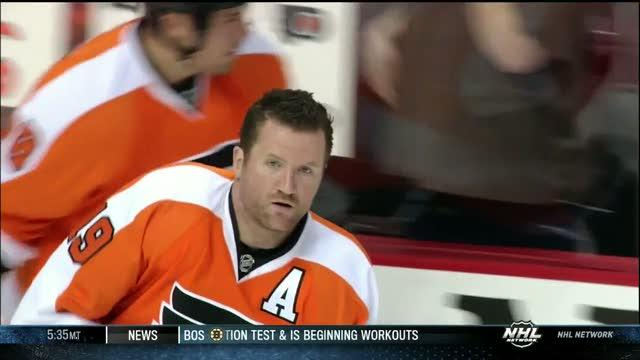 Scott Hartnell gets a haircut