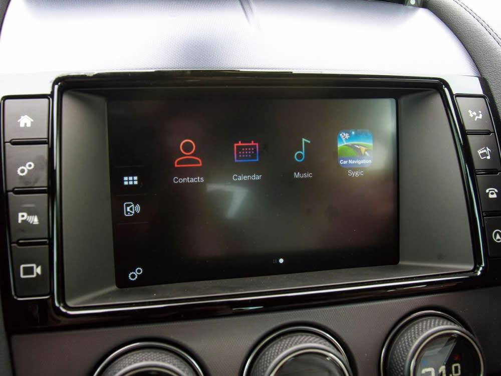 InControl Touch Pro的導入,讓手機可以遠端設定車輛資訊。