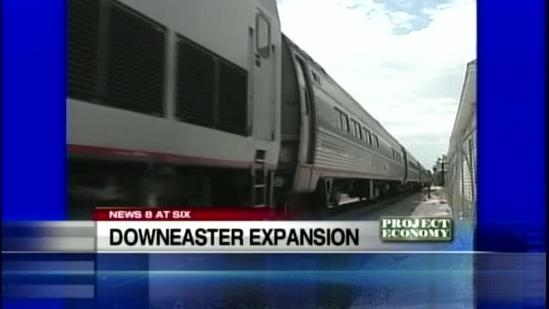 Downeaster expands north of Portland