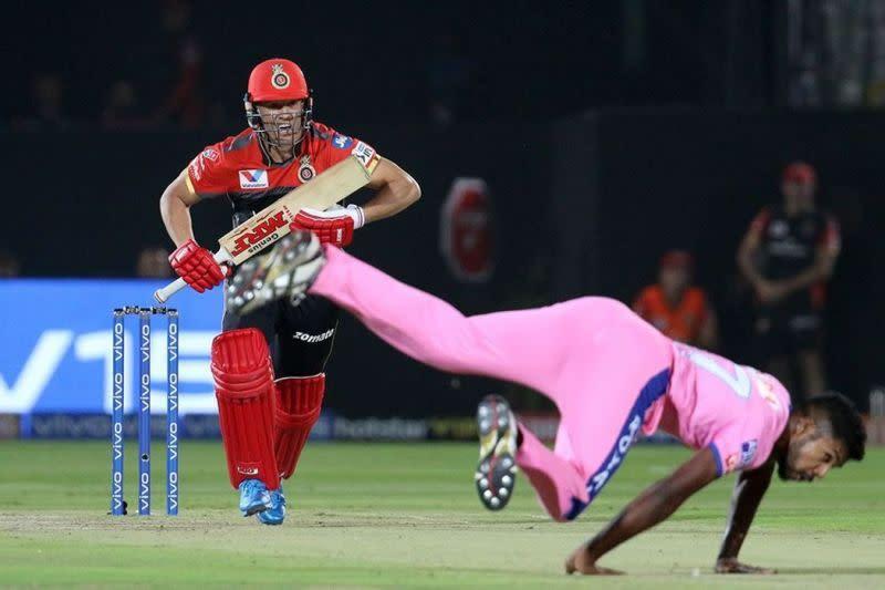 AB de Villiers of Royal Challengers Bangalore. Picture courtesy: BCCI/iplt20.com