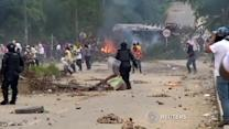 Clashes in Colombia as farmers' strike flares up