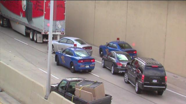 Freeway shutdown after fatal accident