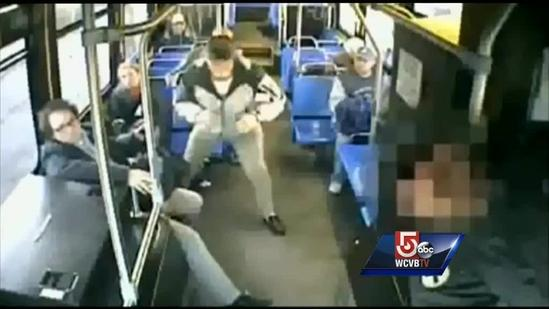 Passengers talk about stopping bus when driver falls ill
