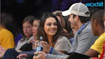 Ashton Kutcher and Mila Kunis Attend Stagecoach Together