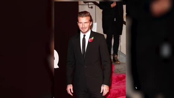David Beckham Is Crowned Most Stylish Man of the Year