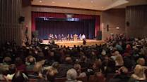 Town hall meeting in New Dorp for Sandy victims