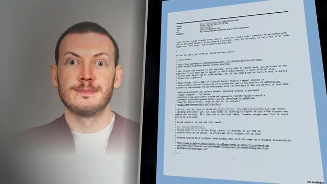 Univ. of Colo. releases thousands of James Holmes' emails