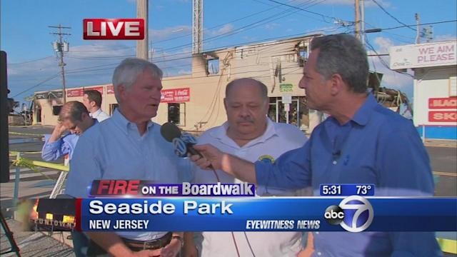 Seaside Park vows to rebuild after the fire