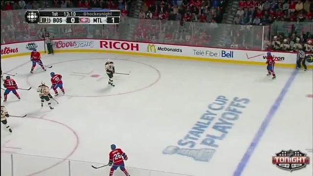 Boston Bruins at Montreal Canadiens - 05/12/2014