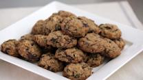 Chocolate-Granola Drop Cookies