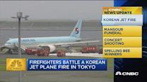CNBC update: Korean jet fire, concert shooting