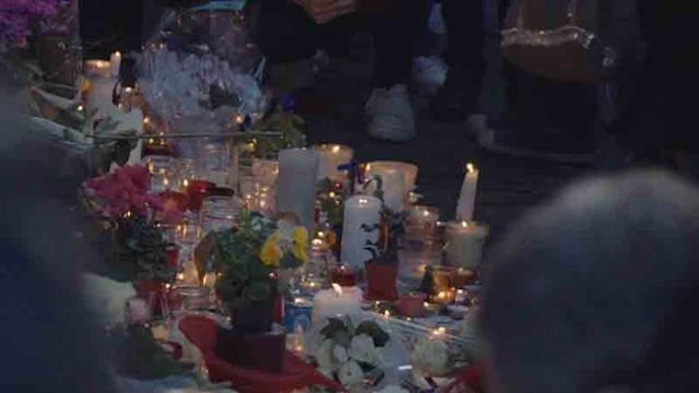 Paris, two days after the attacks