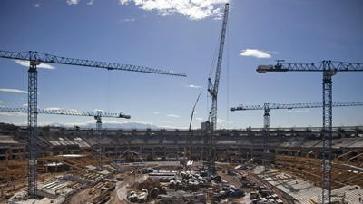 Construction as Rio readies for next Olympics
