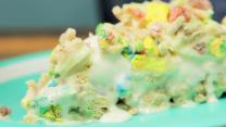 Lucky Charms Ice Cream Cake