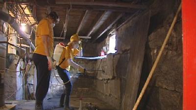 Church Group Helps Barre Citizens Clean Up