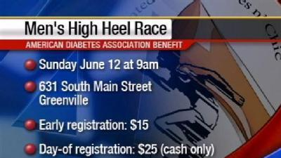 Upstate Men Strap On Heels For Charity, pt. 2