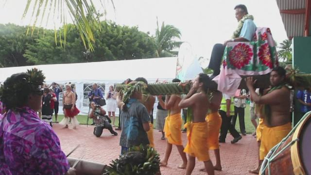Pacific summit opens with Polynesian spectacular