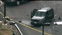 One dead after car tried rushing NSA security gate
