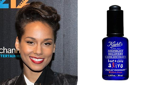 Alicia Keys Supports a Great Cause - and Great Skin!