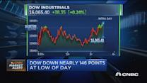 Pisani: Oil plunge hits stocks
