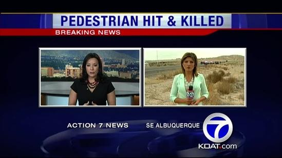 1 killed in pedestrian accident