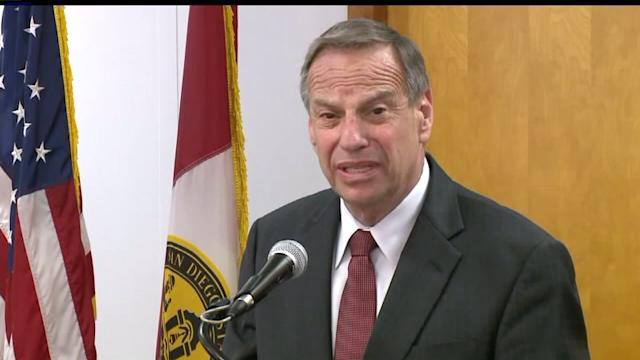 Democrats to Vote on Mayor Filner`s Resignation