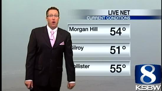 Get Your Monday KSBW Weather Forecast 5.13.13