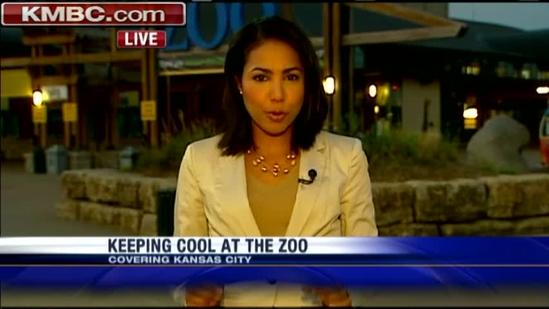 Kansas City Zoo braces for huge crowds, heat