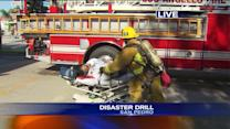Distaster Drill Staged at Local Hospital