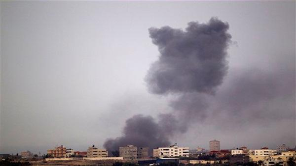 Violence in the Gaza Strip escales with a new Israeli air strike