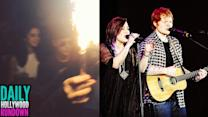 Justin Bieber & Selena Party Together (VIDEO)- Demi Lovato & Ed Sheeran Surprise Performance! (DHR)