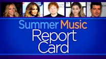 Summer Music Report Card