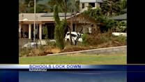 Barricade situation forces 3 schools to lock down