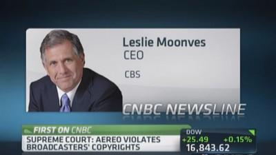 CBS CEO: Terrific victory for content business