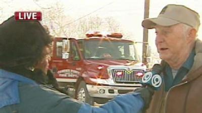 Witness Describes Saving Man From Burning Home
