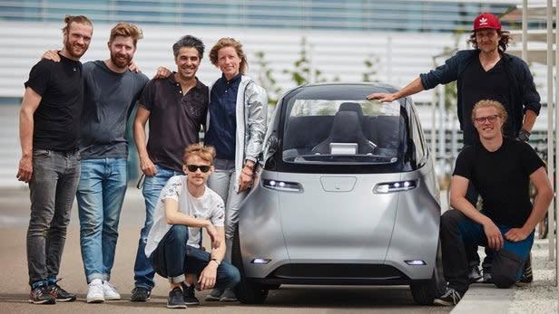 日前研發團隊決定把Uniti One電動車開上路測試,地點選在充滿熱情陽光的瑞典南部
