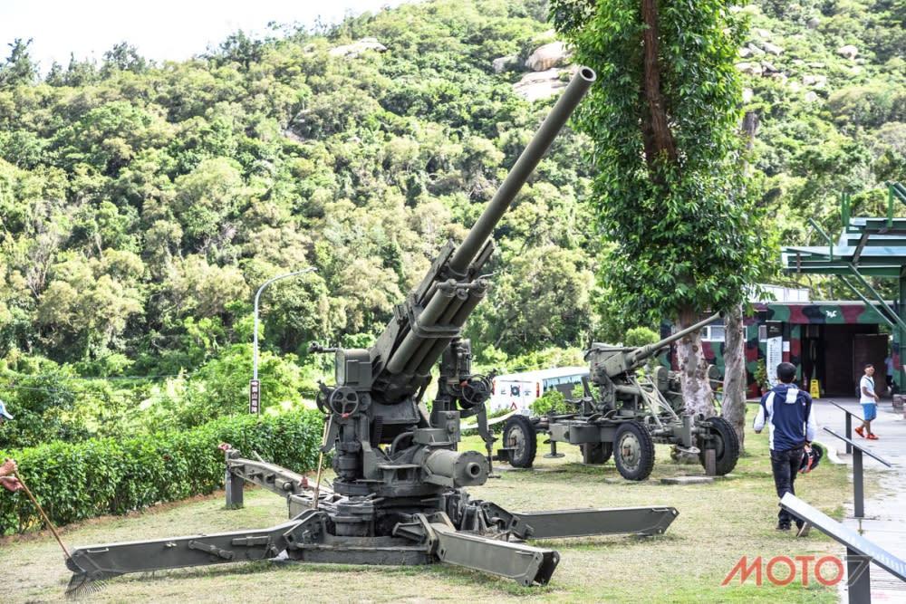 昔日軍事設施有些已成為觀光資源,供遊客遊覽。