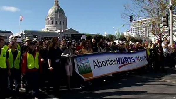 Thousands attend abortion rallies in San Francisco