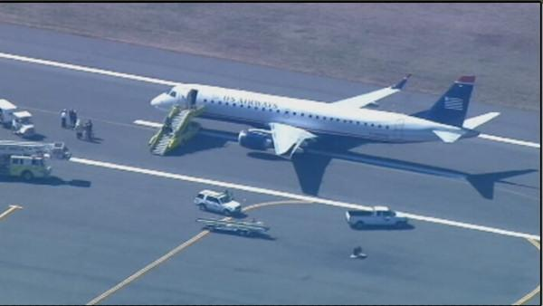 Philadelphia to Boston plane cleared after evacuation at Logan