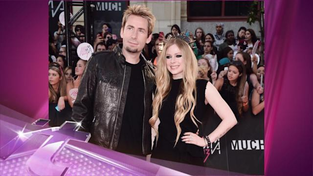 Entertainment News Pop: Avril Lavigne & Chad Kroeger Married in South of France
