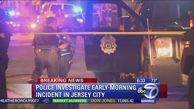 Man wounded in police-involved shooting in Jersey City