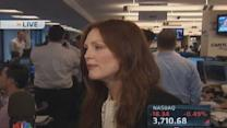 Julianne Moore on Cantor Fitzgerald's charity day