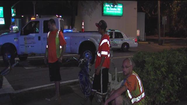 2 construction workers hurt in South Tampa hit-and-run