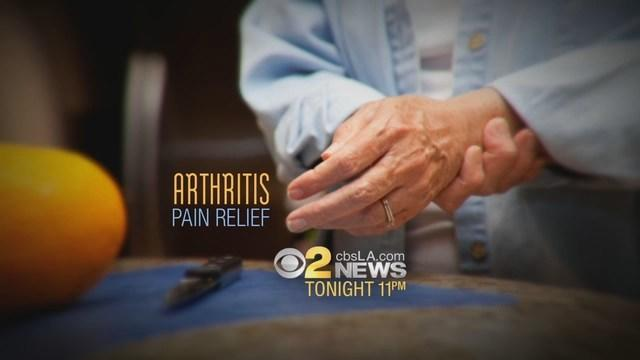 Tonight At 11PM On CBS2: Arthritis Pain Relief