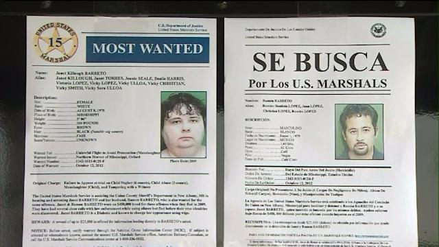 Fugitive Couple Sought in Child`s Death Spotted in SoCal
