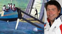 America's Cup mural dedicated to sailor who died