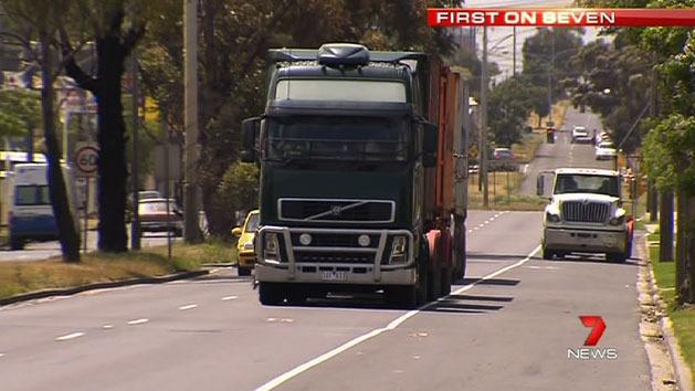 Truck drivers driving 'illegally'