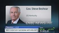 Disappointed but Healthcare.gov is going to work: Gov. Be...