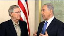 Mitch McConnell Meets Netanyahu in Israel